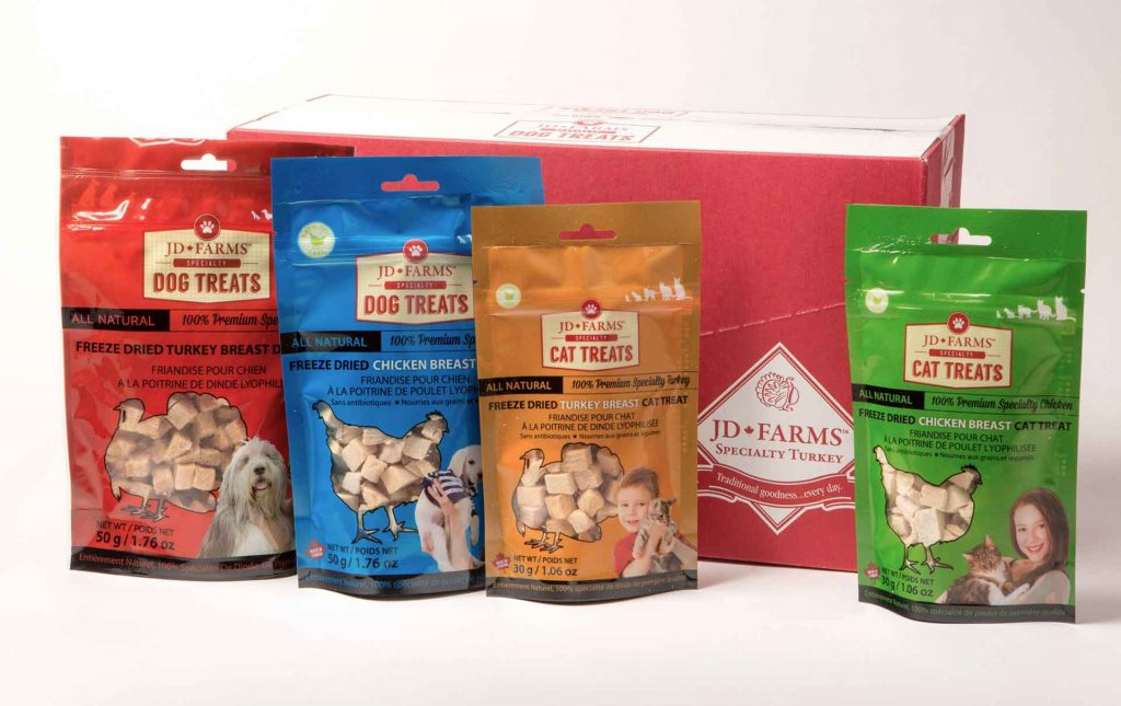 JD Farms - pet food treats