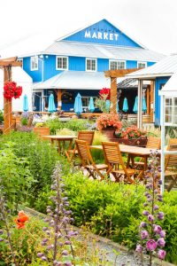 Krause Berry Farms market and cutting garden